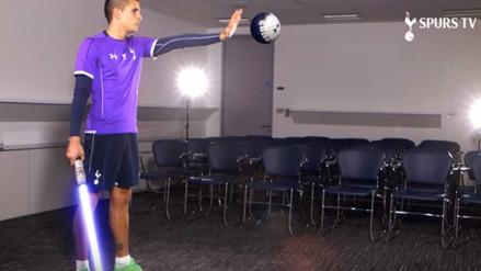 YouTube: la fiebre de Star Wars se apoderó del Tottenham y de Erik Lamela
