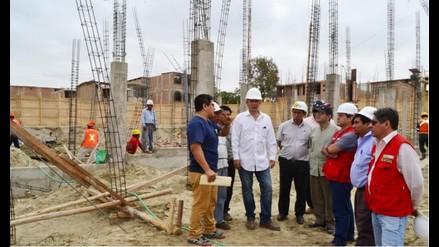 Avances en construcción del Establecimiento de Salud Víctor Raúl