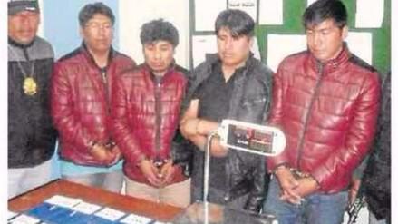 Juliaca: detienen a agrupación musical que llevaba droga en instrumentos