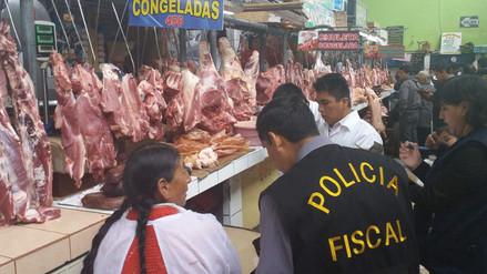 6f7975471a2cf Huancayo  decomisan 40 kg. de carne en estado de descomposición