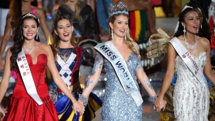 Mireia Lalaguna es elegida Miss Mundo 2015