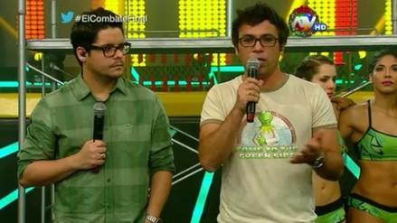 Gian Piero Díaz y Renzo Schuller se despidieron de Combate