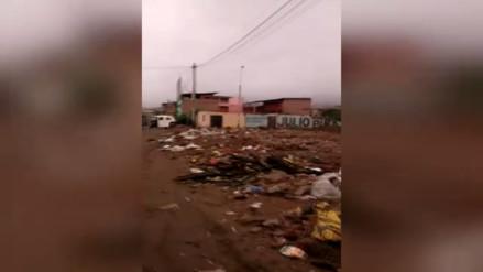 VMT: descampado de basura atenta contraa salud de vecinos