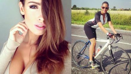 Ciclista Lucía Javorcekova es la sensación en Instagram por fotos infartantes (FOTOS)