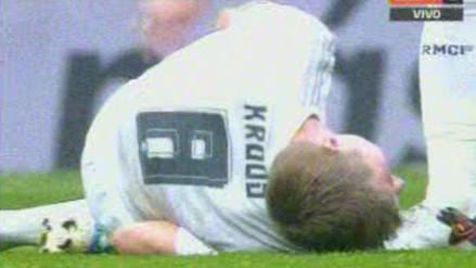 Real Madrid vs. Rayo Vallecano: la criminal falta que sufrió Toni Kroos (VIDEO)