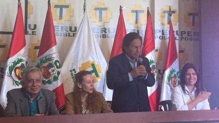 Perú Posible presentó oficialmente su plancha presidencial
