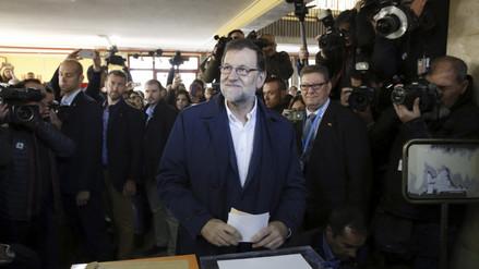 Mariano Rajoy anima a españoles a votar en jornada electoral