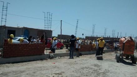 Cerca de 200 obreros participan del concurso