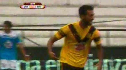 Cantolao vs. La Bocana: Mario Ceballos rompió el cero con remate cruzado (VIDEO)