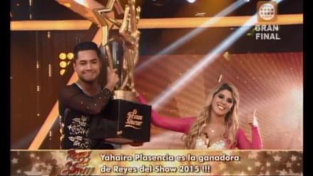 'Reyes del Show': Yahaira Plasencia se coronó como campeona
