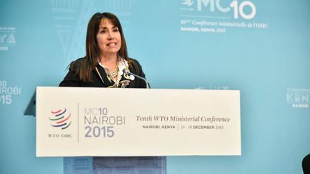 Países de la OMC acuerdan eliminar subsidios a exportaciones agrícolas