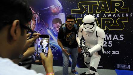Star Wars: El despertar de la Fuerza podría alcanzar US$ 528 millones en su debut