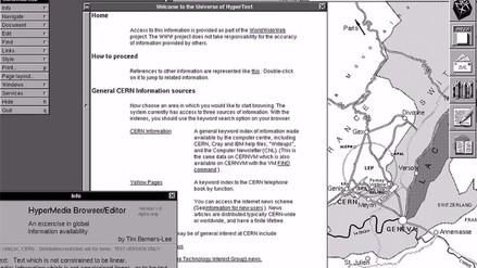 La primera página web apareció hace 25 años