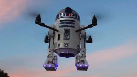 Arturo, el R2D2 de Star Wars que vuela como un dron