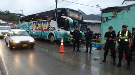 Choque de bus contra vivienda dejó dos muertos en Magdalena