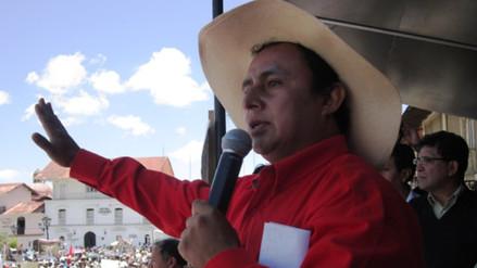 Gregorio Santos postulará a la presidencia desde una celda de Piedras Gordas