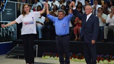 Townsend y Lay integran plancha presidencial de César Acuña