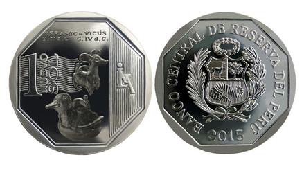 Entra en circulación moneda de S/. 1 alusiva a la cerámica Vicús