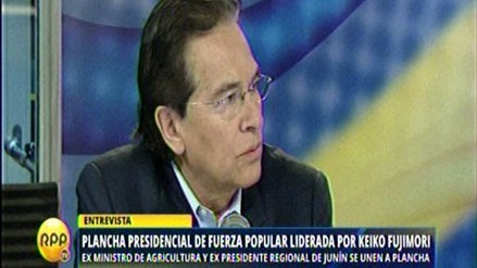 """Huaroc: """"Fuerza Popular tiene institucionalidad y sus niveles de decisión"""""""