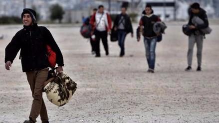 Más de un millón de refugiados e inmigrantes llegaron a Europa en 2015