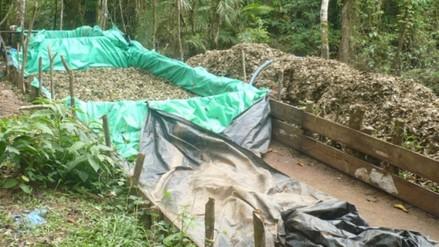 Policías incautan 22 kilos de droga y destruyen laboratorio de PBC
