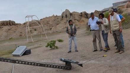 Usarán avión no tripulado para registrar zonas arqueológicas de Lambayeque