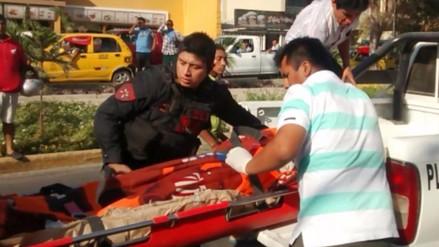 Trasladan a la morgue cuerpo de vigilante abatido por delincuentes