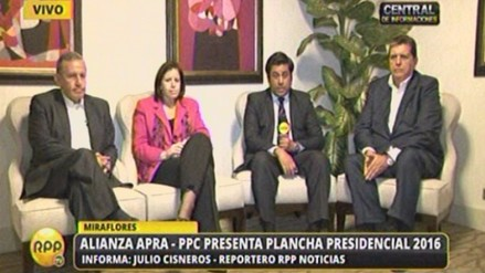 Apra-PPC: Los viejos adversarios de ayer somos amigos del futuro del Perú