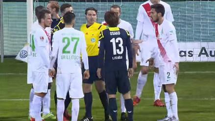 YouTube: japonés Yuya Osako dio ejemplo de Fair Play en la Bundesliga