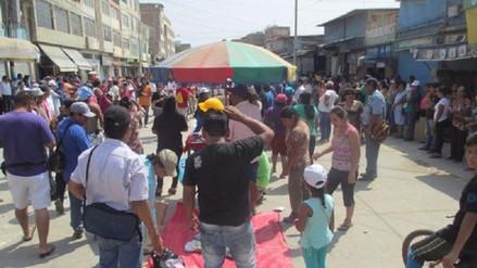 Chiclayo: suspenden simulacro de incendio por pirotécnicos en mercado Modelo
