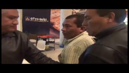 Capturan a presunto extorsionador de ex alcalde en Cajamarca