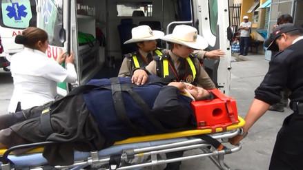 Policía de Carreteras brinda reporte de accidentes de tránsito en la región