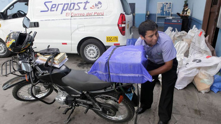 Serpost: envíos retrasados se entregarán hasta el 31 de diciembre