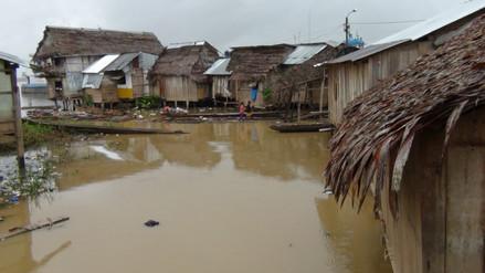 Incremento del caudal del rio Huallaga preocupa a pobladores