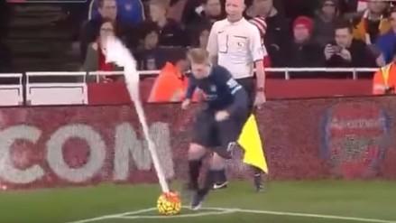 YouTube: Kevin De Bruyne y el vergonzoso episodio en el Arsenal - Manchester City