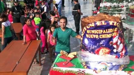 Nuevo Chimbote: elaboran el panetón más grande del Perú