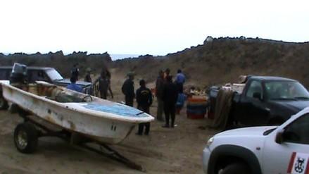 Intervienen a personas por realizar pesca prohibida en Reserva Nacional de Paracas