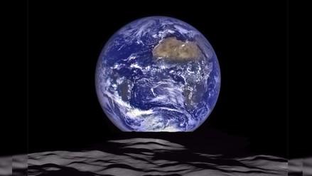 La NASA capta deslumbrante imagen de la Tierra desde la Luna