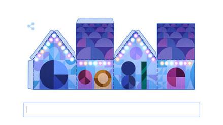 Google desea felices fiestas con nuevos doodles