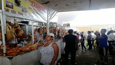 Chiclayo: gran demanda del pollo a horas de Navidad