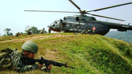 Vraem: dos militares heridos por explosión de mina antipersonal