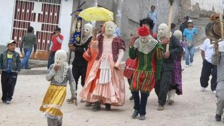 Ayacuchanos celebran Navidad con danza de la Huaylía