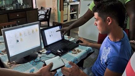 Cuba: más de 150.000 de personas acceden diario a internet