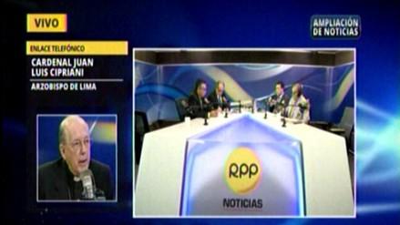 """Cipriani pide a candidatos una campaña """"limpia y transparente"""""""