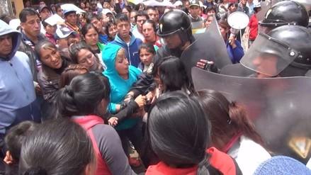 """Huancayo: denuncian penalmente a la """"Tía Rita"""" por incitar a la violencia"""