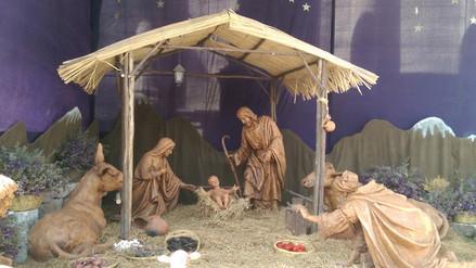 Arequipeños visitan nacimientos tradicionales en Navidad