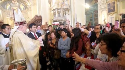 Cardenal Cipriani ofició solemne Misa de Navidad y exhortó a fieles a meditar