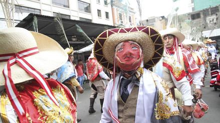 Huaylía: los antabambinos celebran la Navidad con danza, canto y peleas