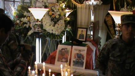Entierran a militar que falleció en el Vraem en incidente provocado por terroristas