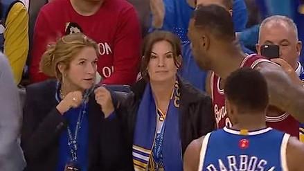 YouTube: así reaccionó LeBron James cuando una fanática le dijo llorón